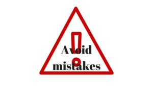 get paid to write - avoid mistakes