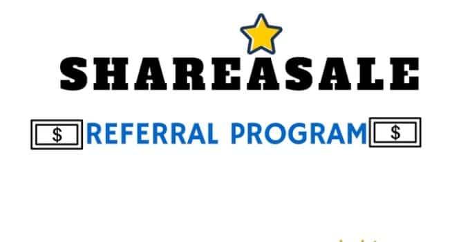 Shareasale referral program