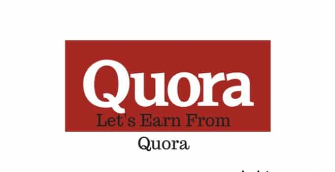 Make money on quora for answering questions