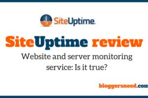 siteuptime review