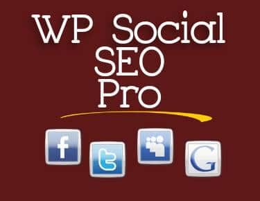 best wordpress SEO plugin - wp social seo pro