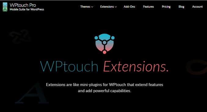 wptouch extensions
