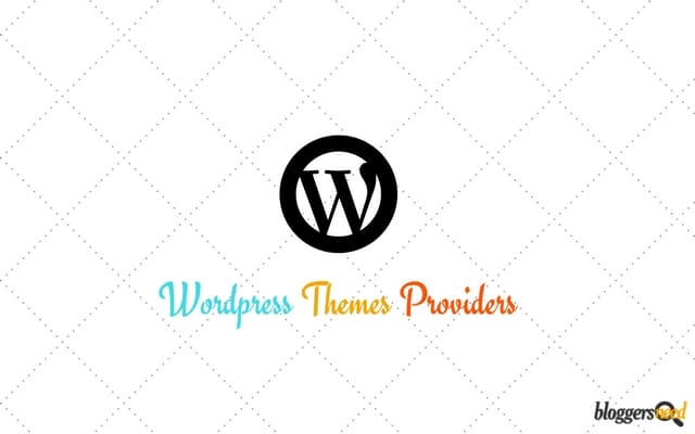 Best WordPress themes providers