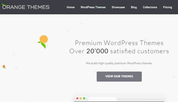 orange themes top wordpress themes provider