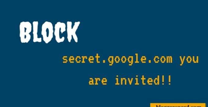secret.google.com