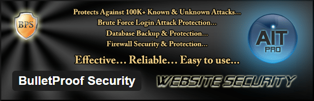 bulletproof security wordpress best plugin