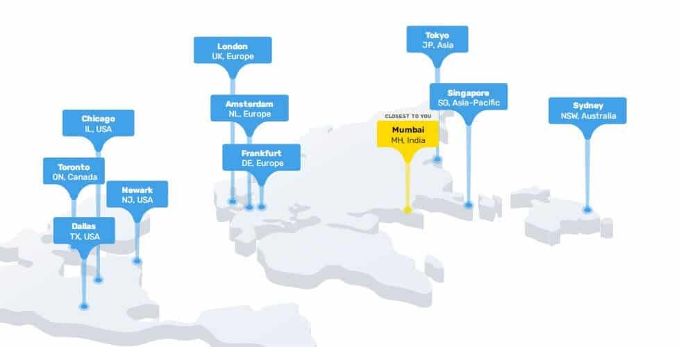 Fastcomet data centers 2020