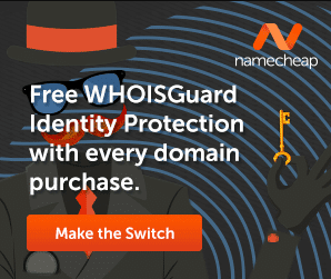 Free WhoisGuard with every domain purchase