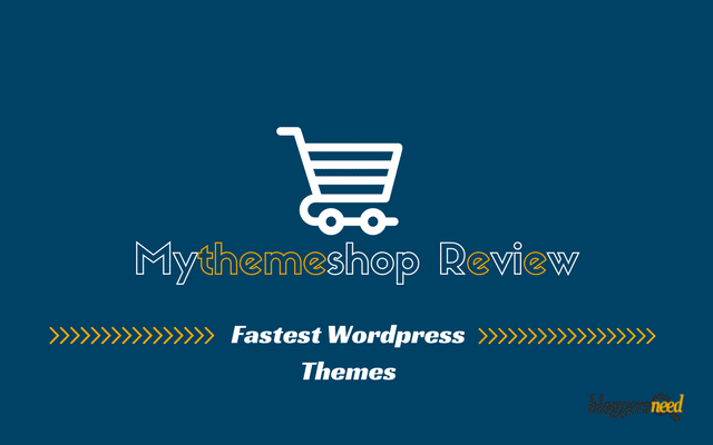 I've written this MythemeShop Review after purchasing 5 themes and they are good.