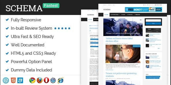 Schema Pro - Fastest WordPress Theme