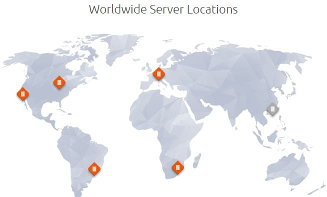 Host1plus server locations