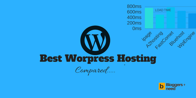 Best WordPress Hosting for 2018 from Bloggersneed