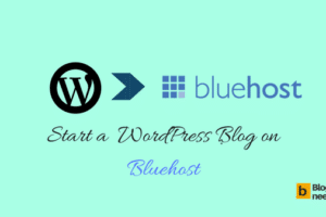 Installing WordPress On Bluehost To Start Your Blog