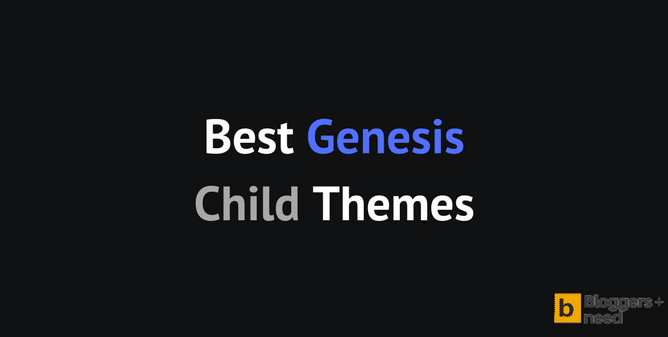 Best Genesis Child themes 2018