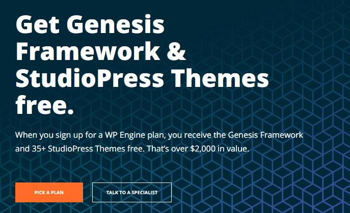 Genesis framework studiopress themes free