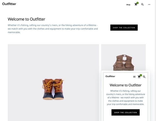 Outfitter Pro image from best genesis theme