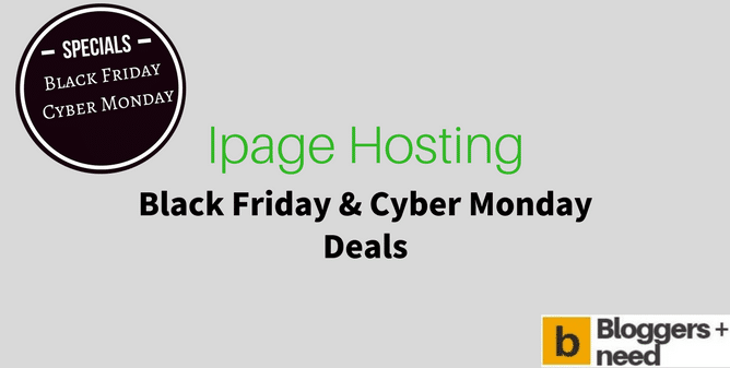 Ipage Black Friday Deals Cyber Monday Deals 2017