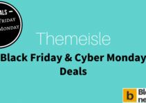 Themeisle Black Friday Cyber Monday 2017 to get 25% offer