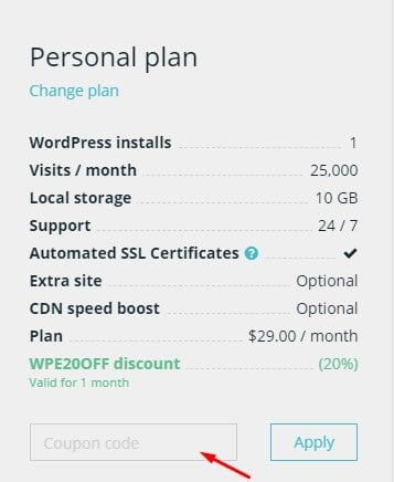 WP Engine discount codes