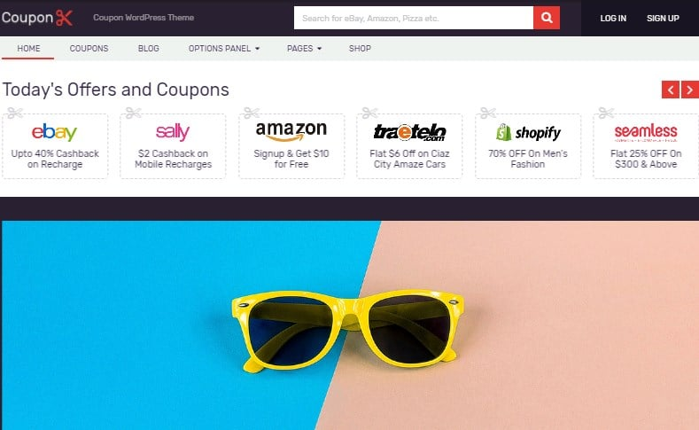 Coupon - best wordpress theme