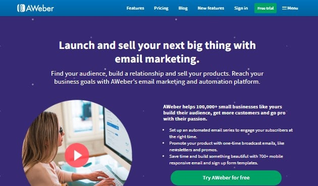About Aweber Email Marketing Company