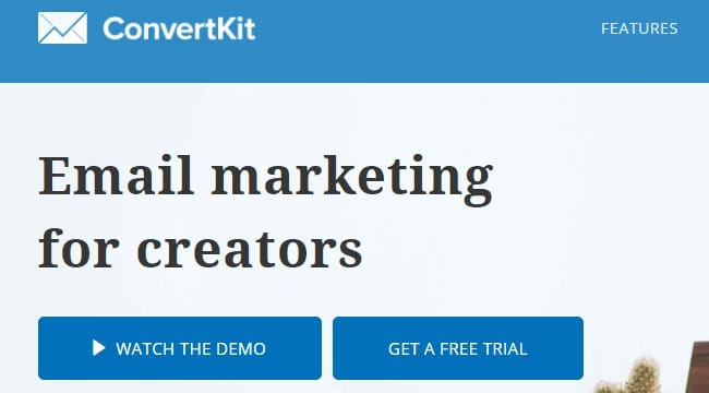 ConvertKit is the Best Email Marketing tool for 2018
