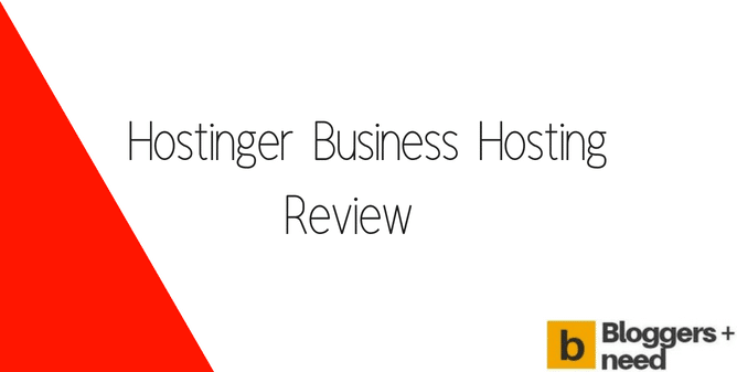 Hostinger Business Hosting Review