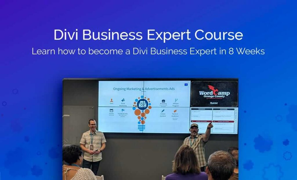 Divi's Business Expert Course Discount WPGears