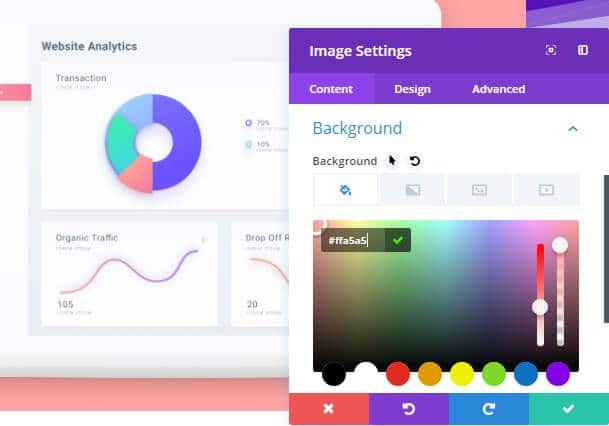 Check the colorization option for this Divi Theme Review