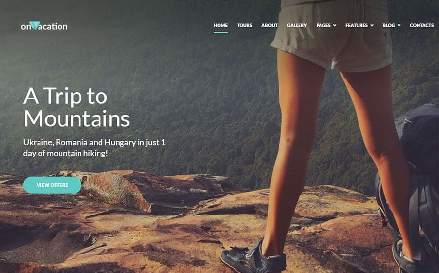 Impressive Travel Company Elementor WordPress Theme