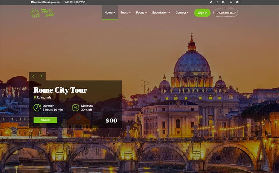 Trip & Guide - Best WordPress Theme for Travel Agency Blog