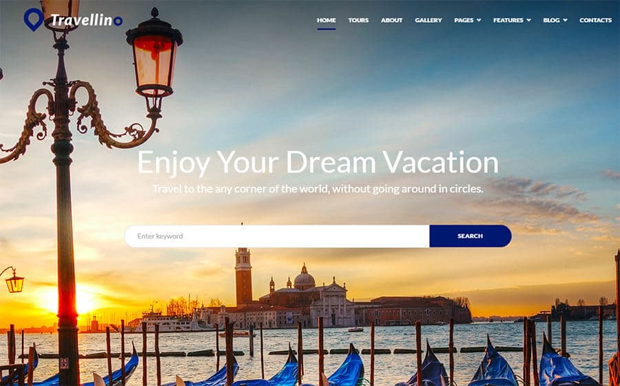 Travellino - Stunning Travel Company Elementor WordPress Theme