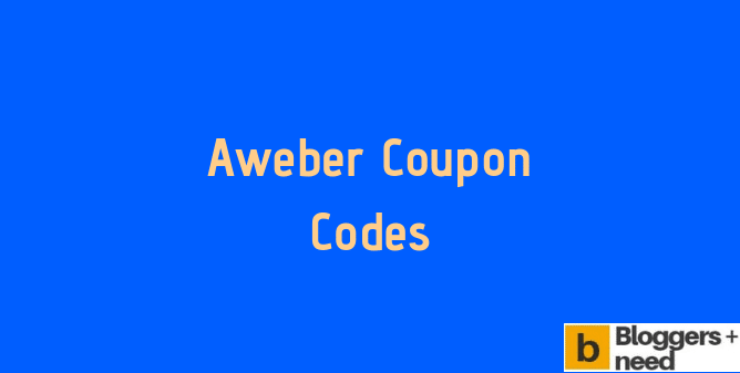 Aweber Coupon Codes 2019