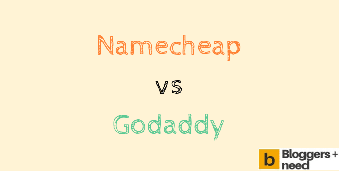 Namecheap vs Godaddy 2020