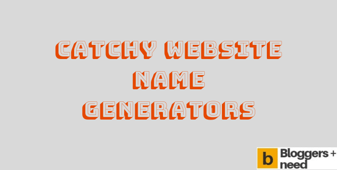 Best Catchy Website Name Generators