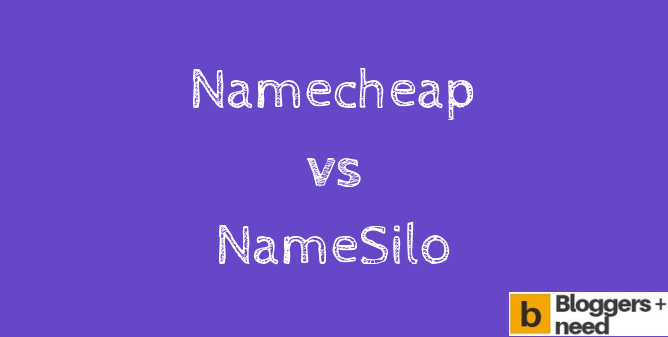 Namecheap vs namesilo Comparison