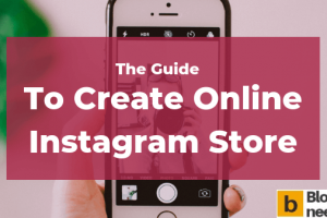 Create Instagram store online from scratch