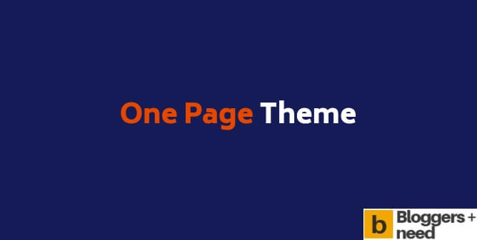 One page theme review with my personal pros and cons i found using it