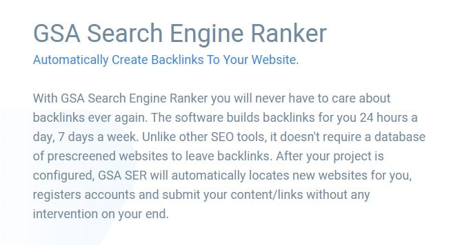 GSA search engine ranker product image