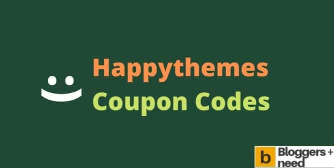 Happythemes coupon codes 2019