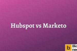 Hubspot vs Marketo
