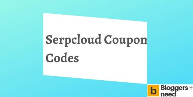 Serpcloud coupon codes