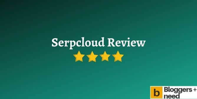 Serpcloud review