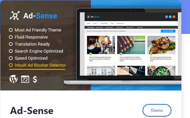 Ad-sense Theme For WordPress blogs