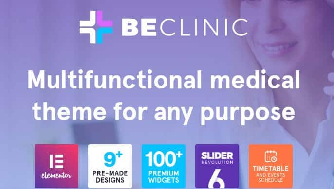 Beclinic medical wordpress template