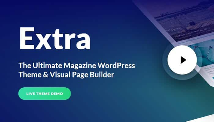 Extra - Magazine WordPress Theme