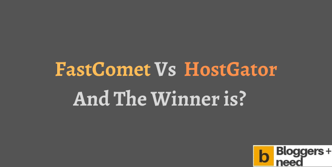 Fastcomet vs Hostgator comparison png image