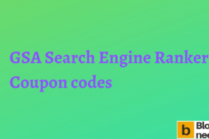 GSA Search Engine Ranker Coupon Codes
