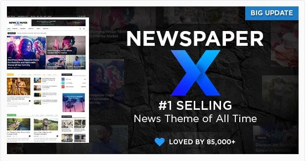 Newspaper - best wordpress theme