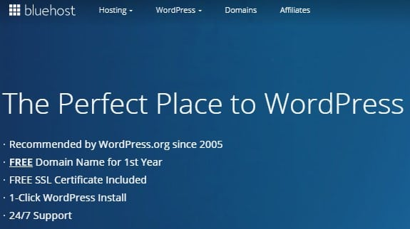 Bluehost page builder
